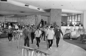 Beatles at the Deuville Hotel Miami Beach