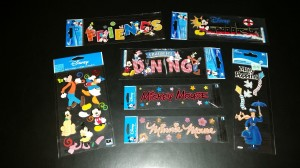 Disney stickers 1
