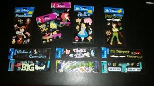 Disney stickers 3