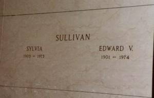 Ed Sullivan - grave