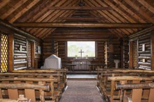 Grand Teton - Chapel of the Transfiguration interior