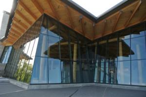 Grand Teton - Visitor Center exterior
