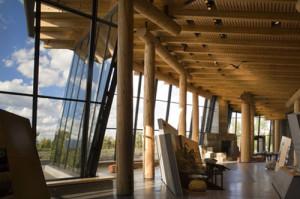 Grand Teton - Visitor Center interior