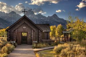 Grand Teton - church