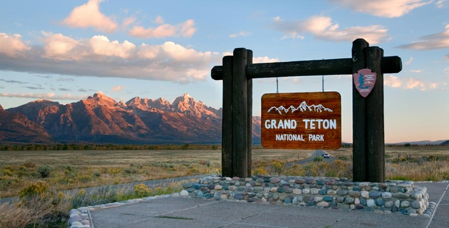 Grand Teton - sign