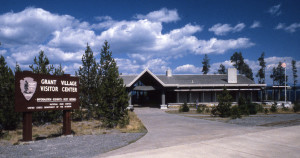Grant Village Visitor Center;Jim Peaco;1987