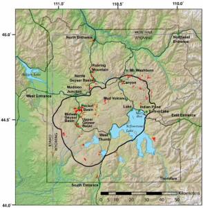 Yellowstone - caldera