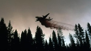 Yellowstone fire - airdrops