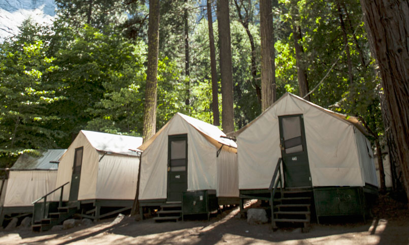Yosemite national park part one the enchanted manor for Yosemite valley cabins