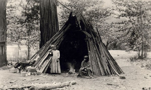 Yosemite - Miwok indiana circa 1925