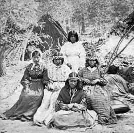 Yosemite - Miwok indians 1