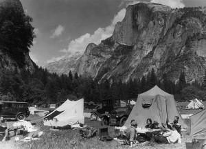 Yosemite - camping