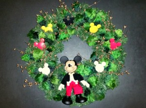 Mickey Mouse wreath version #1 - final