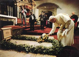 Mission Carmel  - Pope John Paul II