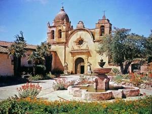 Mission Carmel - exterior