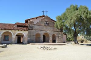 Mission San Antonio de Padua  - exterior