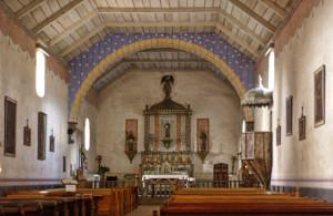 Mission San Antonio de Padua  - interior