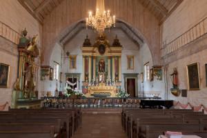 Mission San Jose - interior