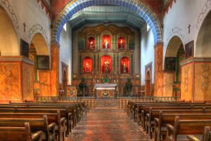 Mission San Juan Bautista - interior