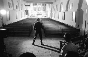 Mission San Juan Bautista - scene from Vertigo 1