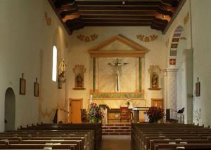 Mission San Luis Obispo - interior