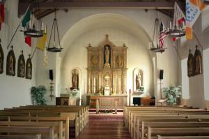 Mission San Rafael Arcangel - interior