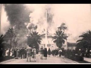 Mission Santa Clara De Asis - fire
