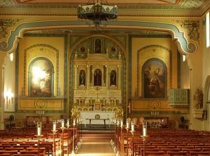Mission Santa Clara De Asis - interior
