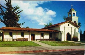 Mission Santa Cruz- exterior