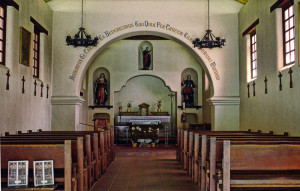 Mission Santa Cruz - interior