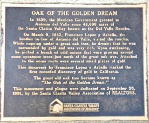 Oak of the Golden Dream