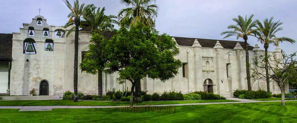 San Gabriel Arcangel - exterior panorama