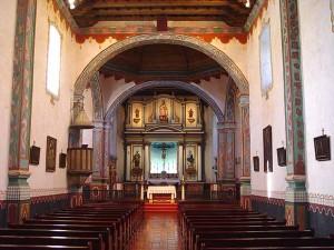 San Luis Rey de Francia - interior