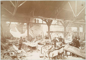 Statue of Liberty -  construction