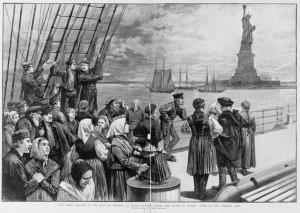 Statue of Liberty -  immigrants