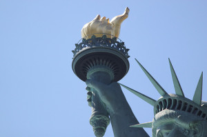 Staute of Liberty - torch