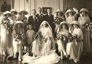 1922 Catherine Wendell marriage to Lord Porchester aka Porchey