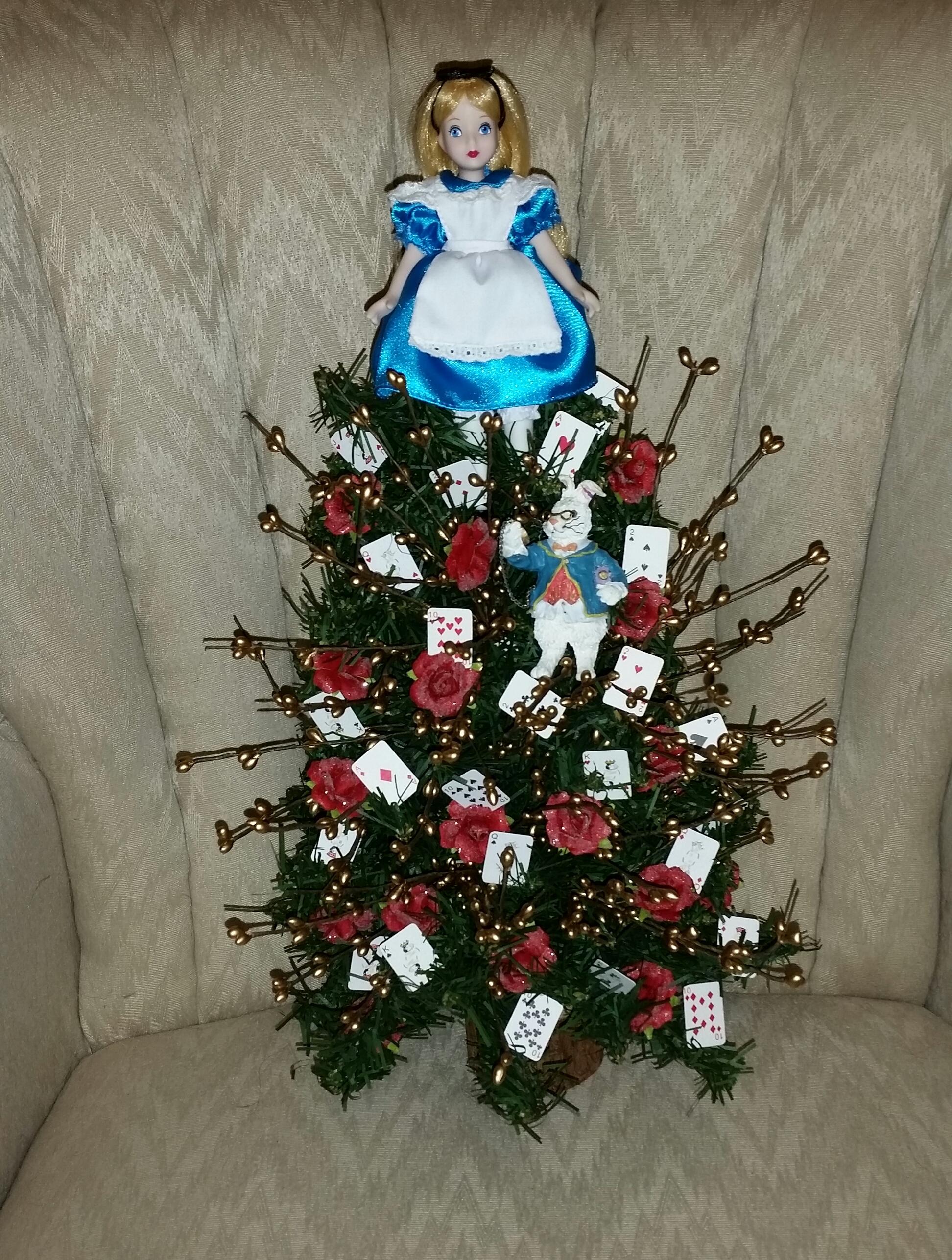 Wonderland Christmas Tree