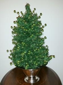 Jeweled Tabletop Christmas Tree 2