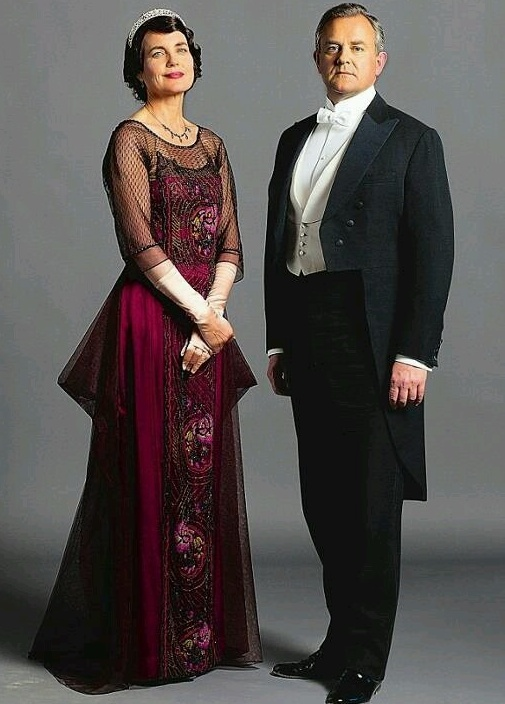 dresses of Lady Edith Downton Abbey