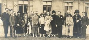 1924 Henry's christening