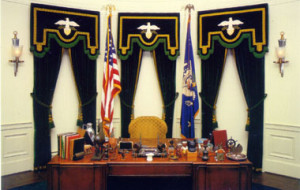 FDR Presidential Library - Oval office