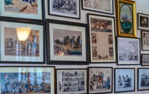 Springwood  - Entrance Hall political cartoon collection