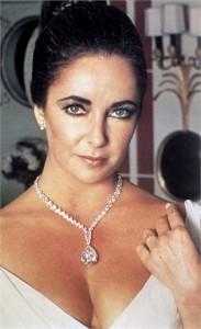 Taylor Burton diamond necklace 1