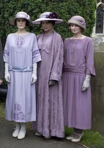 female -1920s dresses - season 3  Sybbie's christening