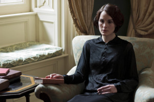 mourning clothes - Lady Mary 1