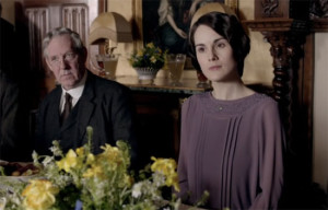 mourning clothes - Lady Mary 2