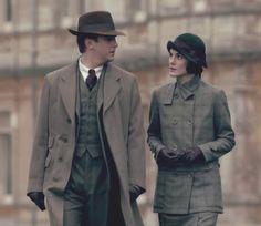 season 3 Mary tailored tweed suit