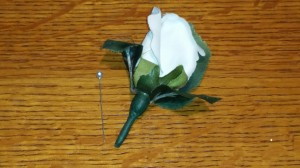 Funeral boutonniere