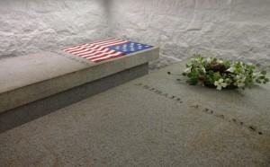 John Adams gravesite at United First Parish Church in Quincy Massachusetts 1a